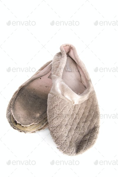 Old house slippers