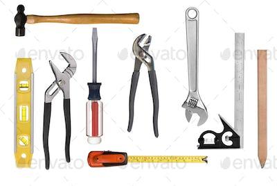 Carpentry tool montage