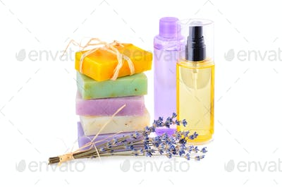 Handmade soaps and lotions
