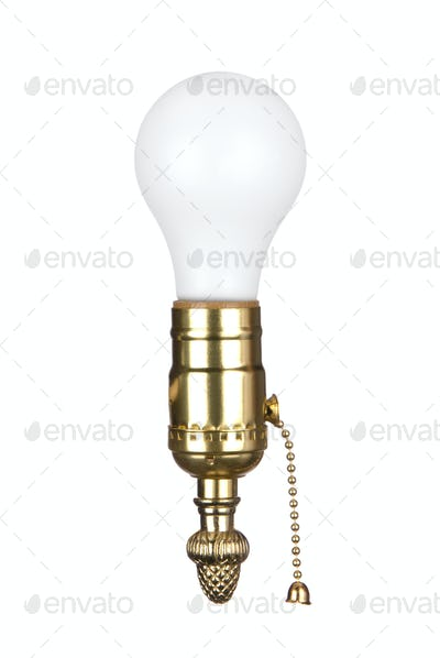 Light bulb in socket