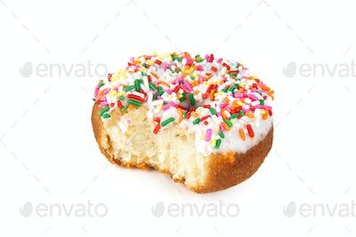 Bitten donut