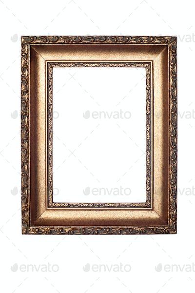 Decorative frame isolated on white