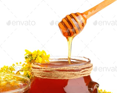 Bowl with honey