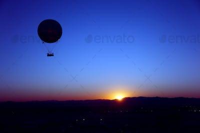 Sunrise Hot Air Balloon