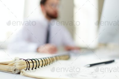 Notepad binder