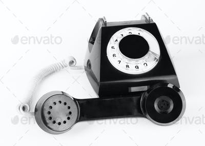 dlack telephone