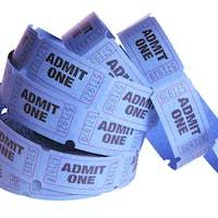 Reel of Movie Tickets