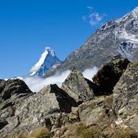 The Matterhorn appears