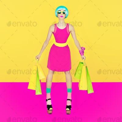 Puppet girl, Crazy Shopping