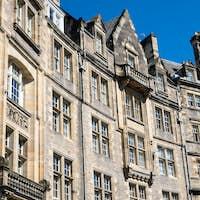 Typical buildings in Edinburgh