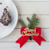 Christmas Dessert. Christmas Background