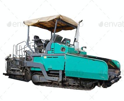 asphalt spreading machine