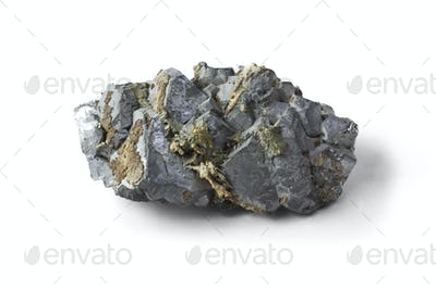 Isolated sample of the mineral