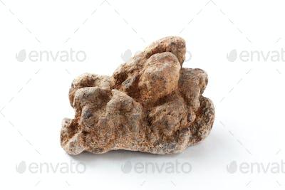Stone isolated on white