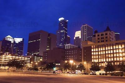 Night in Minneapolis