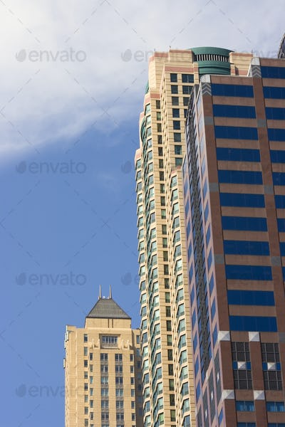 Office buildings in Chicago