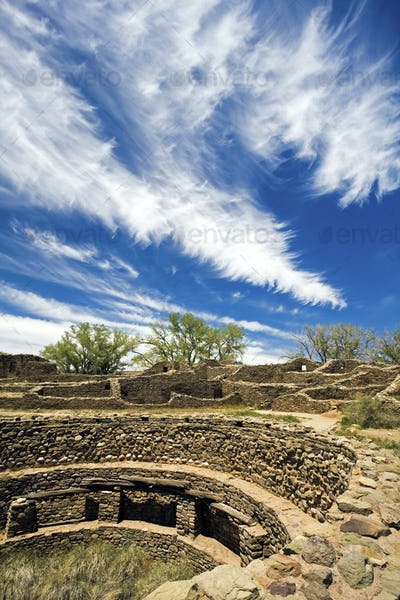 Aztec Ruins in New Mexico