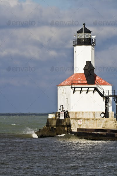 Lighthouse in Michigan City
