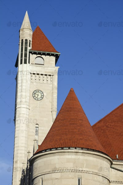 Clock Tower of Union Station