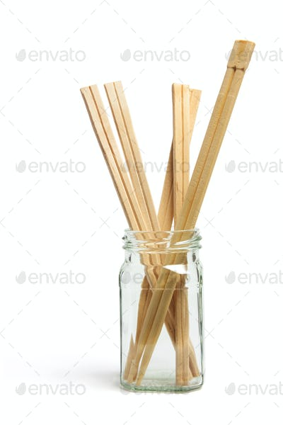 Disposable Chopsticks in Bottle