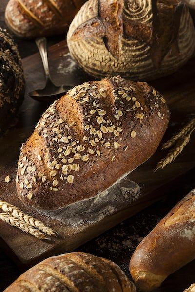 Freshly Baked Whole Wheat Bread
