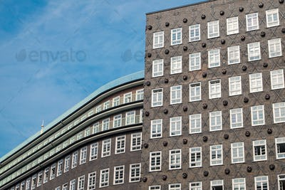 Big old building in Hamburg