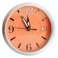 five to twelve o'clock on orange dial isolated