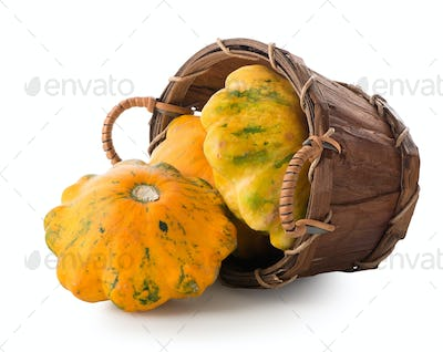 Gourds in a basket