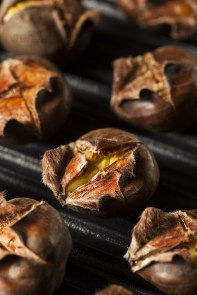 Hot Brown Roasted Chestnuts