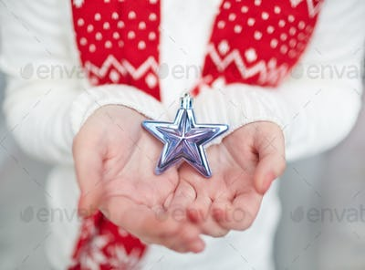 Showing silver star