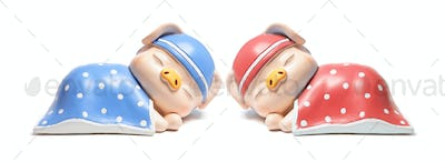 Sleeping Piggybanks