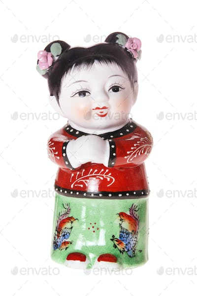 Chinese Girl Figurine