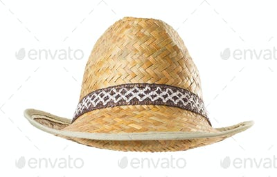 hat  on white background