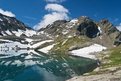 lake Pietra Rossa, Italy