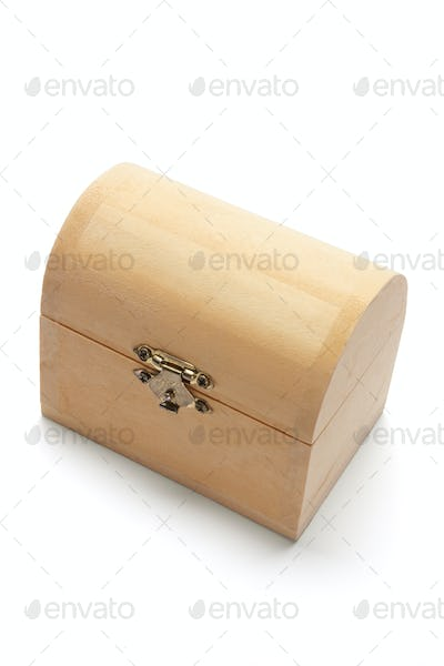 Miniature Wooden Treasure Box
