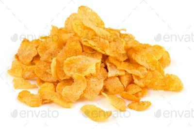 heap of corn flakes