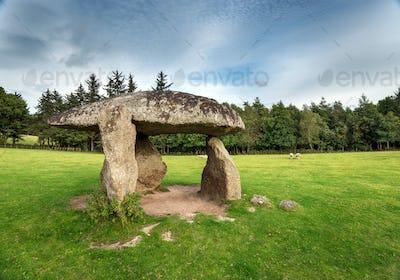 Spinster's Rock on Dartmoor