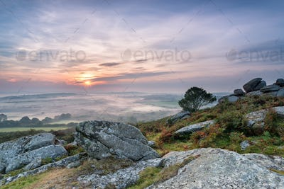 Autumn Mists over Cornwall
