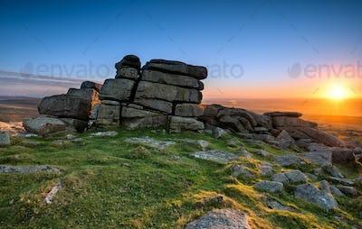 Staple Tor on Dartmoor