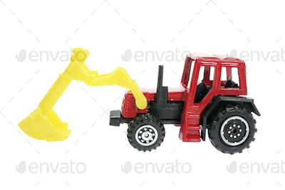 Miniature Plastic Earth Mover