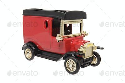Miniature Antique Van