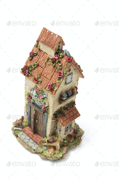 Miniature House Ornament