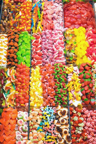 Candy at the Boqueria