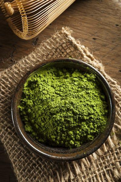 Raw Organic Green Matcha Tea