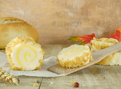 A Roll of Soft Cheese