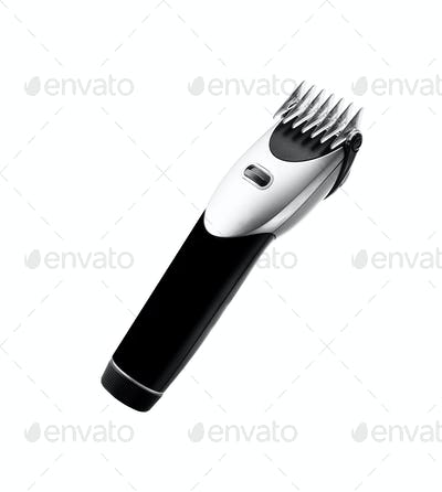Electric shaver place isolated