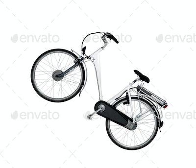 racing bike isolated