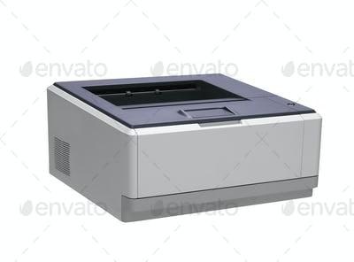 Printer. On a white background.