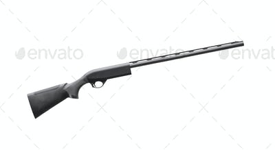 rifle isolated