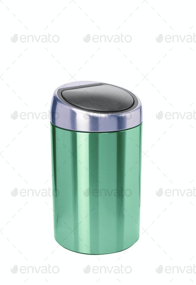 Refuse bin isolated on white background